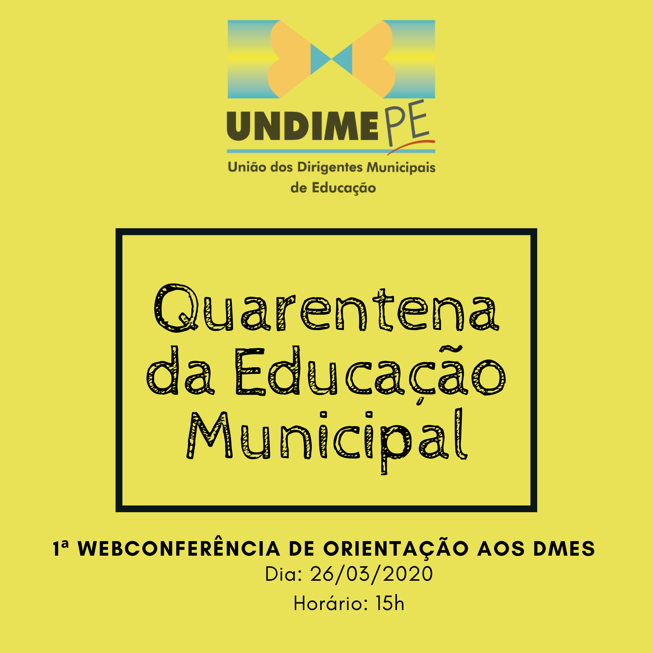 """Já estão disponíveis os materiais da 1ª Videoconferência da """"Quarentena da Educação Municipal"""""""