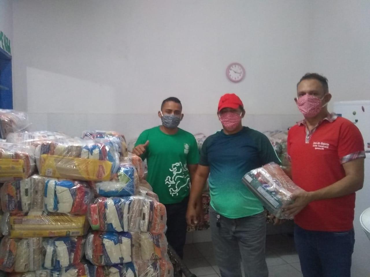 Alunos das Escolas Municipais de Igarassu receberão a segunda entrega de cesta de alimentos e kit's de limpeza