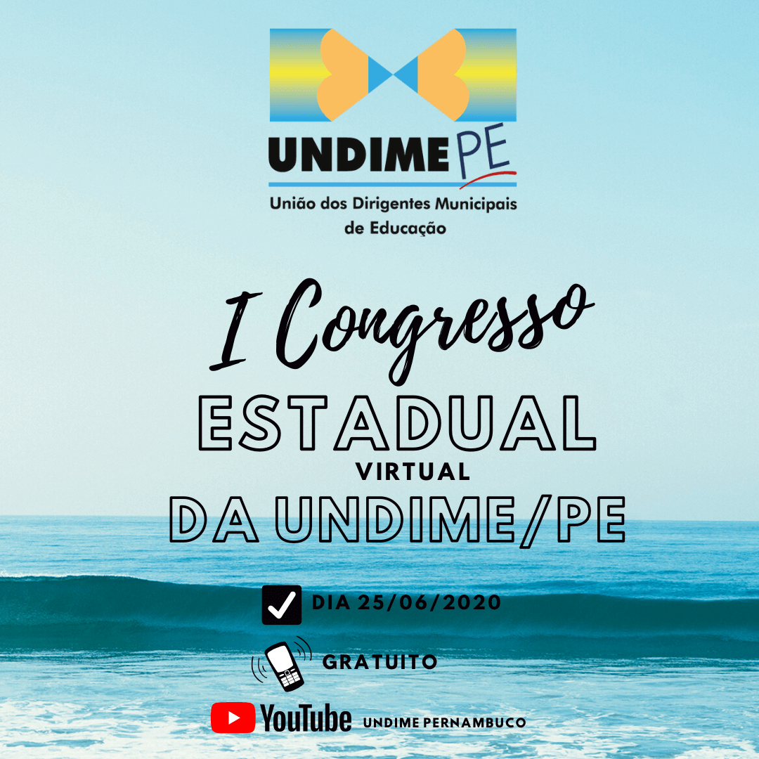 Undime Pernambuco realizará I Congresso Digital dos Dirigentes Municipais de Educação