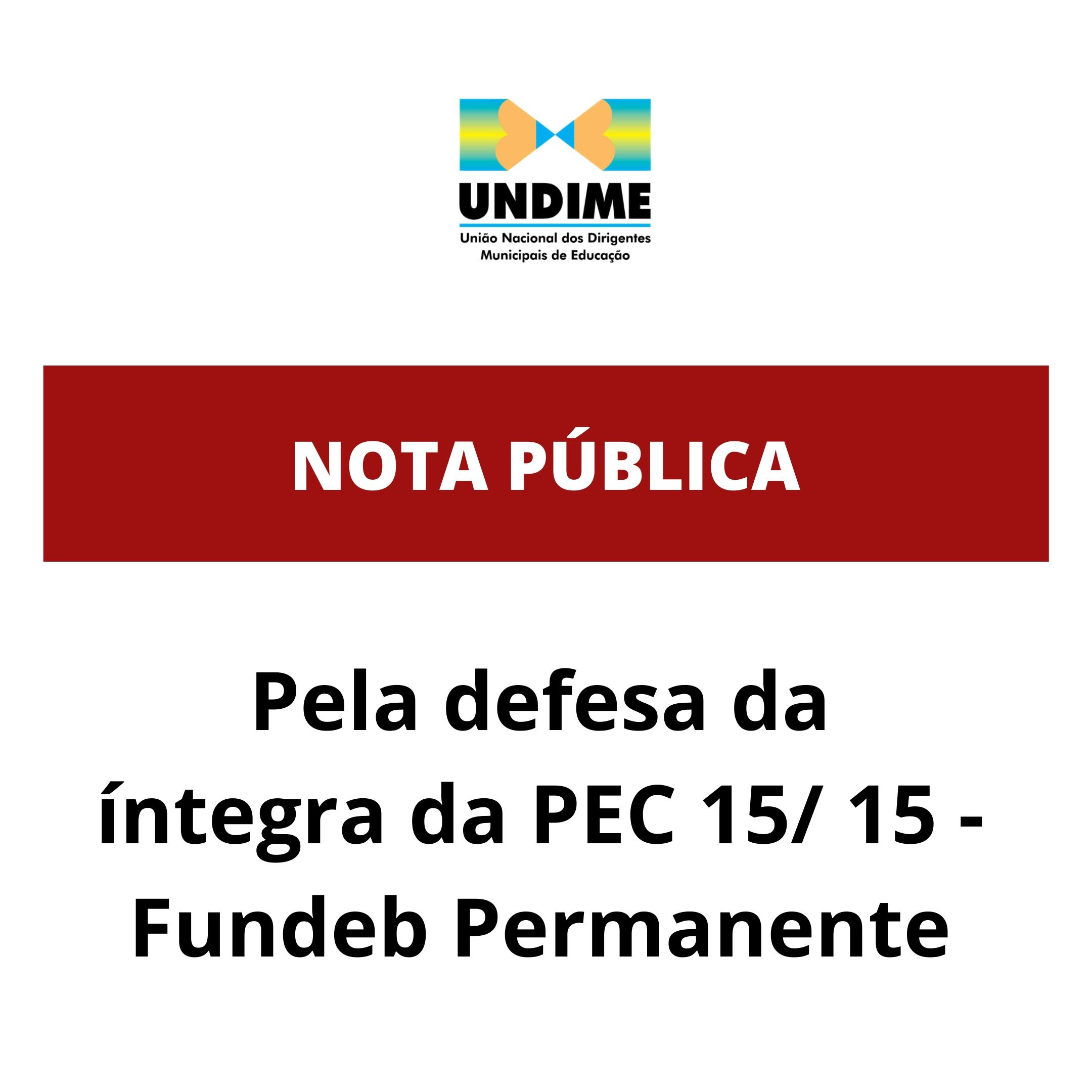 Seccionais da Undime realizam mobilização para a votação do Fundeb Permanente na íntegra