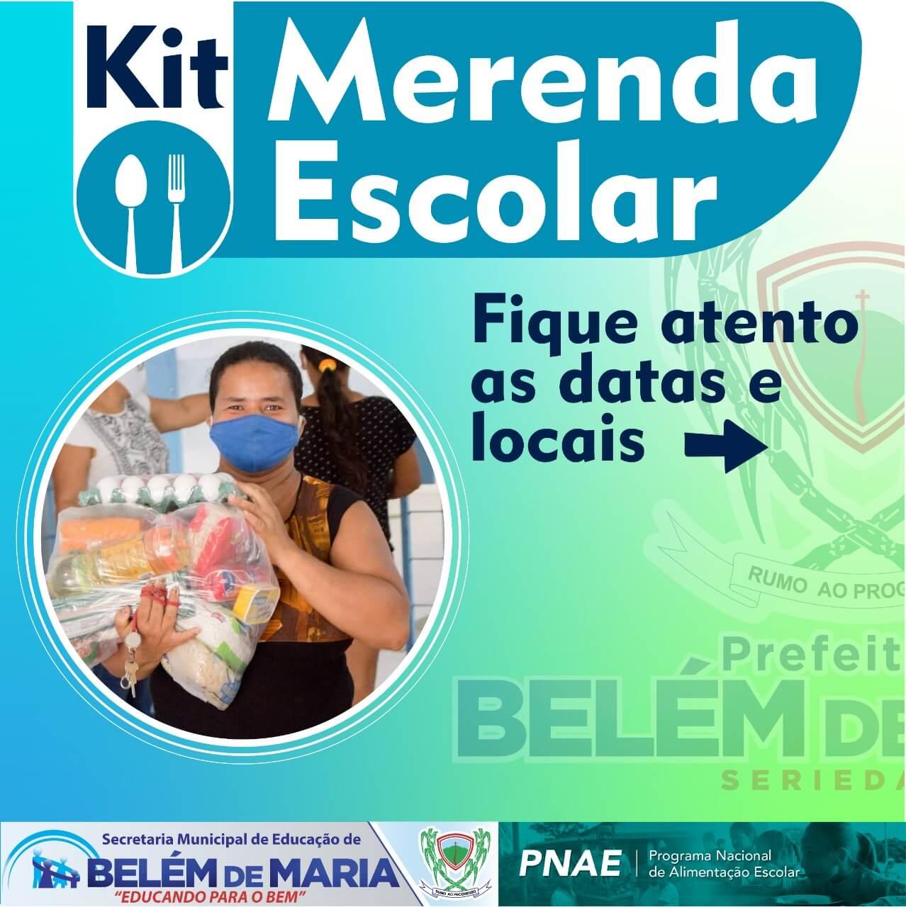 O Município de Belém de Maria realizou a Quarta Distribuição de Kits de Merenda Escolar as famílias dos estudantes matriculados na Rede Municipal de Ensino.