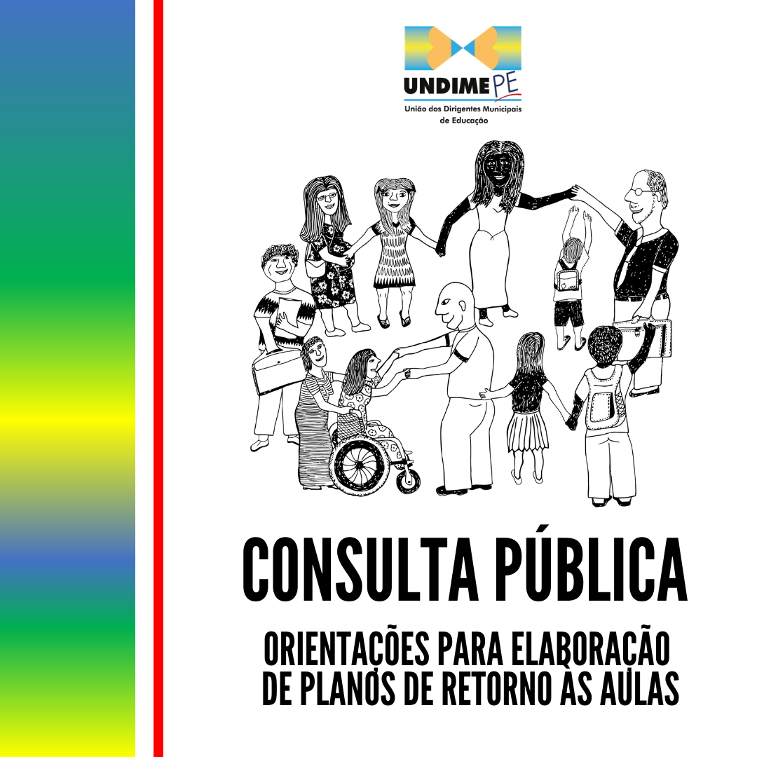 Undime Pernambuco lança consulta pública do Documento de Orientações para Elaboração de Plano de Retorno às Aulas