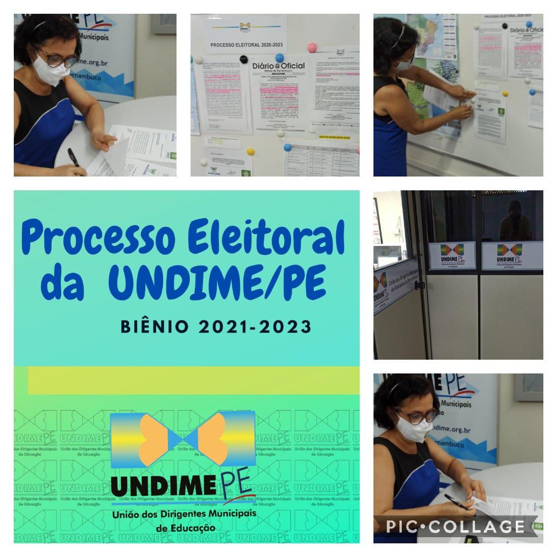 Undime Pernambuco recebe registro de chapa para a Diretoria Executiva biênio 2021-2023