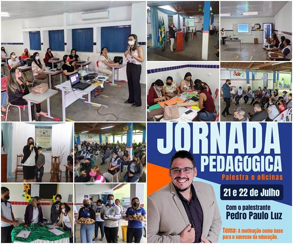 SECRETARIA DE EDUCAÇÃO DE MACHADOS REALIZA JORNADA PEDAGÓGICA 2021