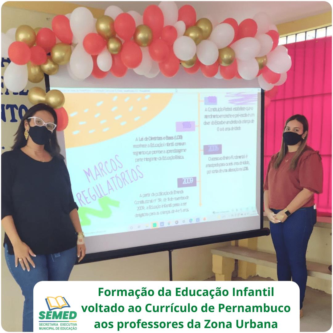 SECRETARIA DE EDUCAÇÃO DOS PALMARES PROMOVE FORMAÇÃO PARA EDUCAÇÃO INFANTIL