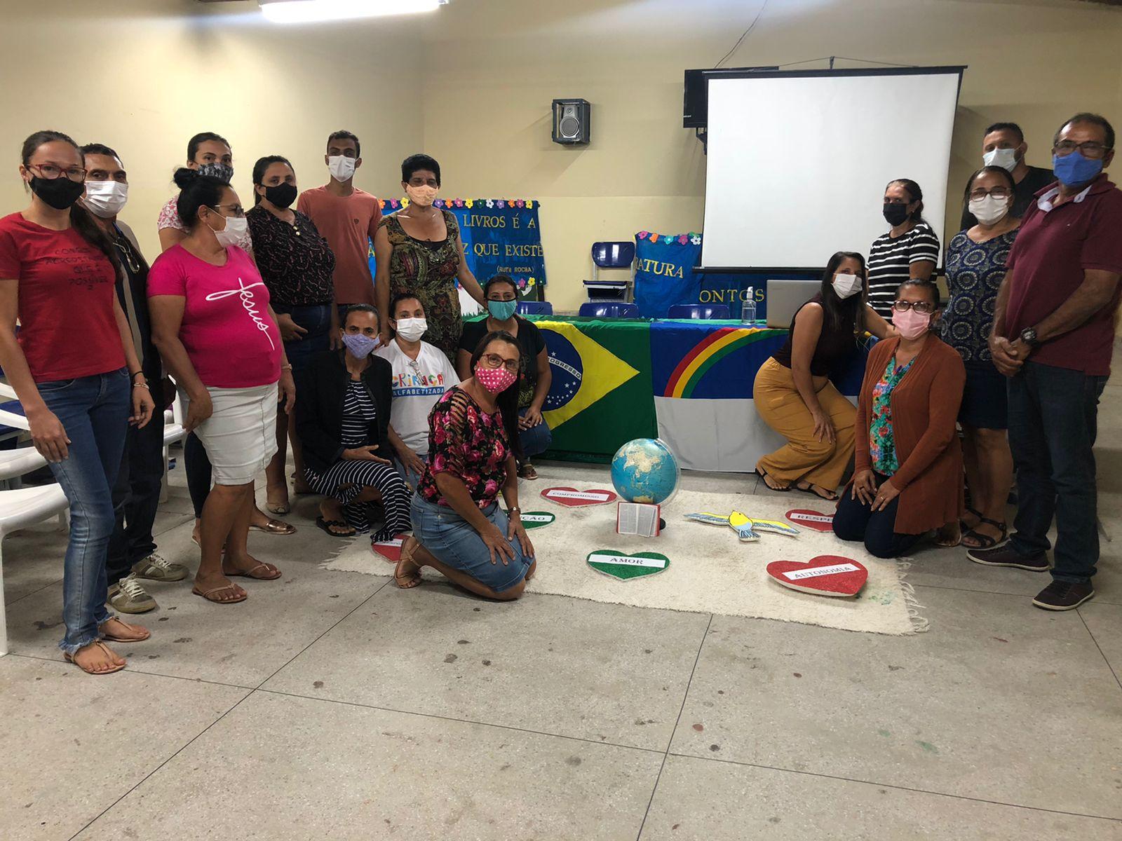 Secretaria de Tacaratu realiza primeiro encontro do Projeto de Educação para um Cultura de Paz na escola EMMGO