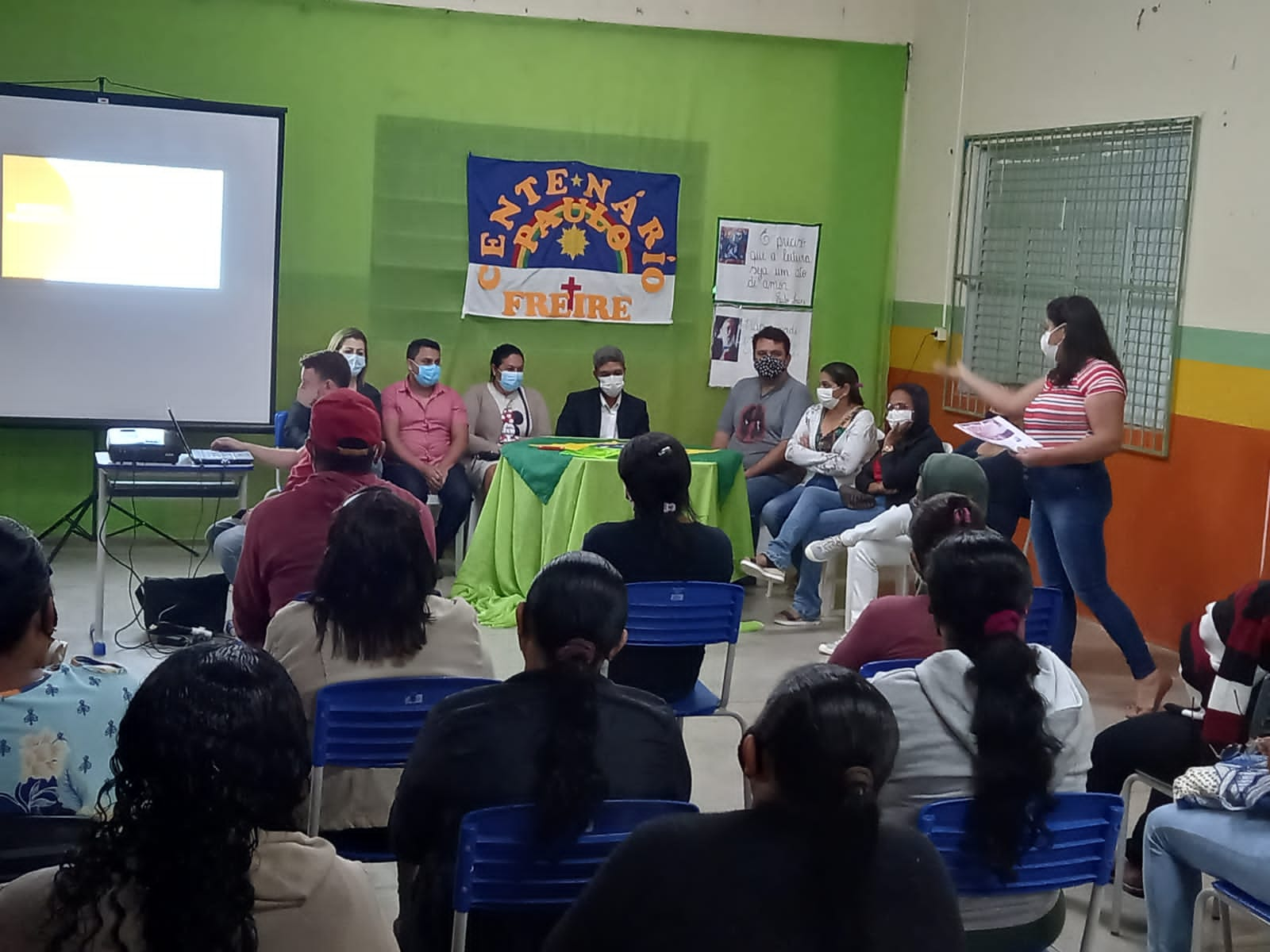 Escolas municipais de Tacaratu realizam culminância do Projeto Centenário Paulo Freire