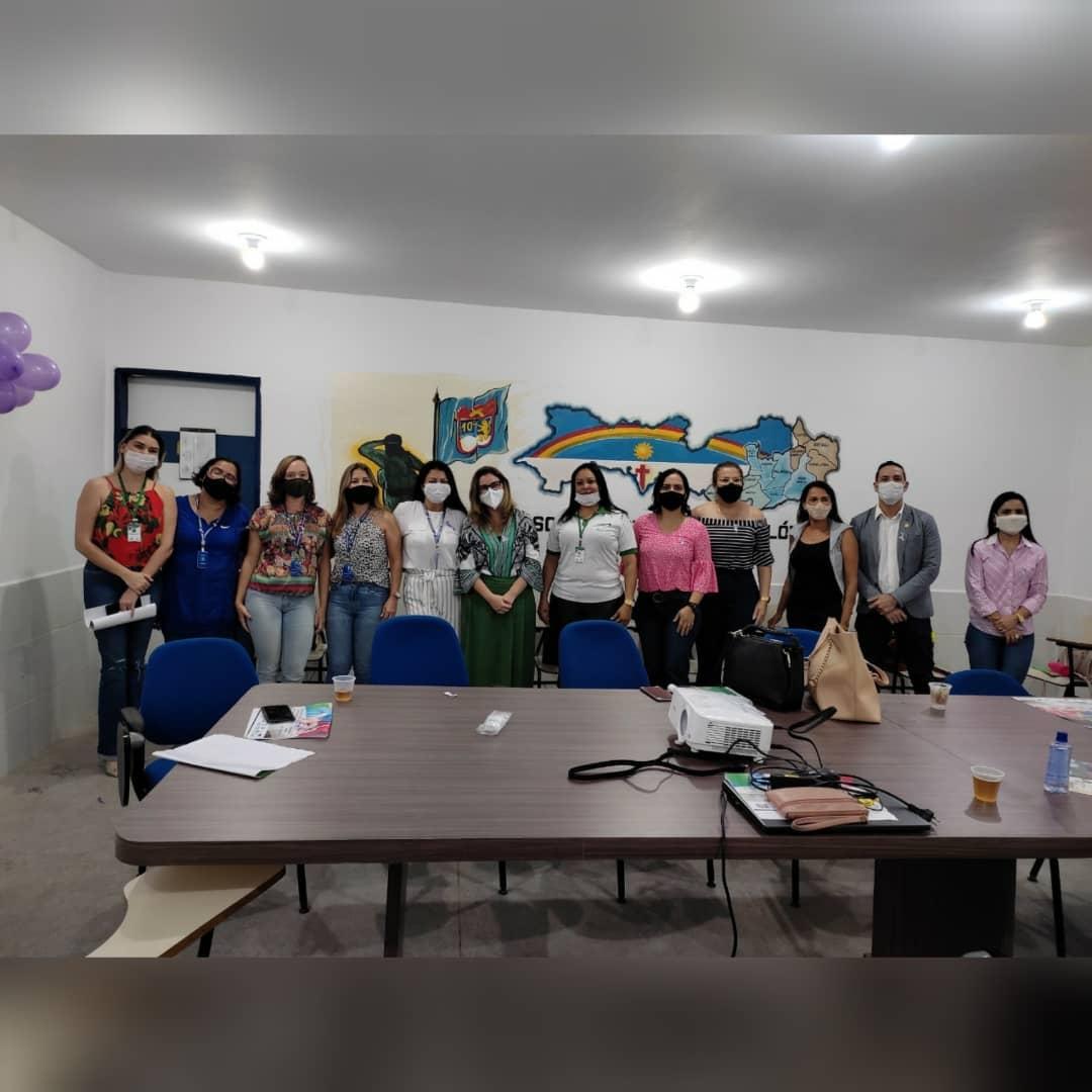 SECRETARIA MUNICIPAL DE EDUCAÇÃO DOS PALMARES PARTICIPA DE UMA RODA DE CONVERSA COM OUTRAS INSTITUIÇÕES NO AUDITÓRIO NO 10º BATALHÃO