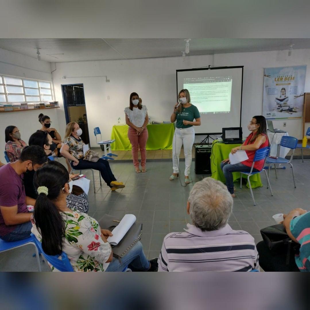 SECRETARIA DE EDUCAÇÃO DOS PALMARES REALIZA A 2ª REUNIÃO DO FOMPEP