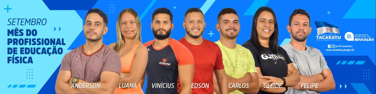 Secretaria de Educação e Esportes de Tacaratu vivencia II edição do Projeto Arena Fitness em comemoração ao mês do Profissional de Educação Física